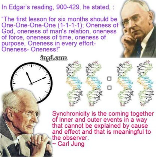 cayce, jung, synchronicity